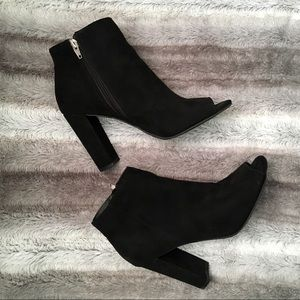 Merona Peep Toe Booties